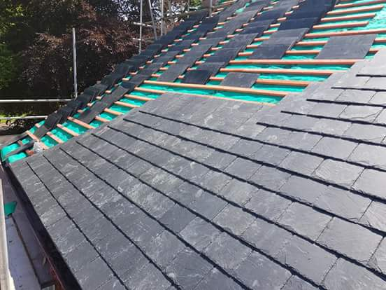 Finishing Slate Roof Clare Roof Ennis