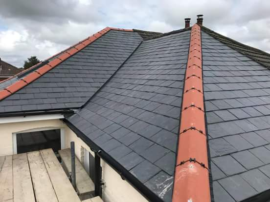 Slate Roof Ennis and Ridge Tiling Clare