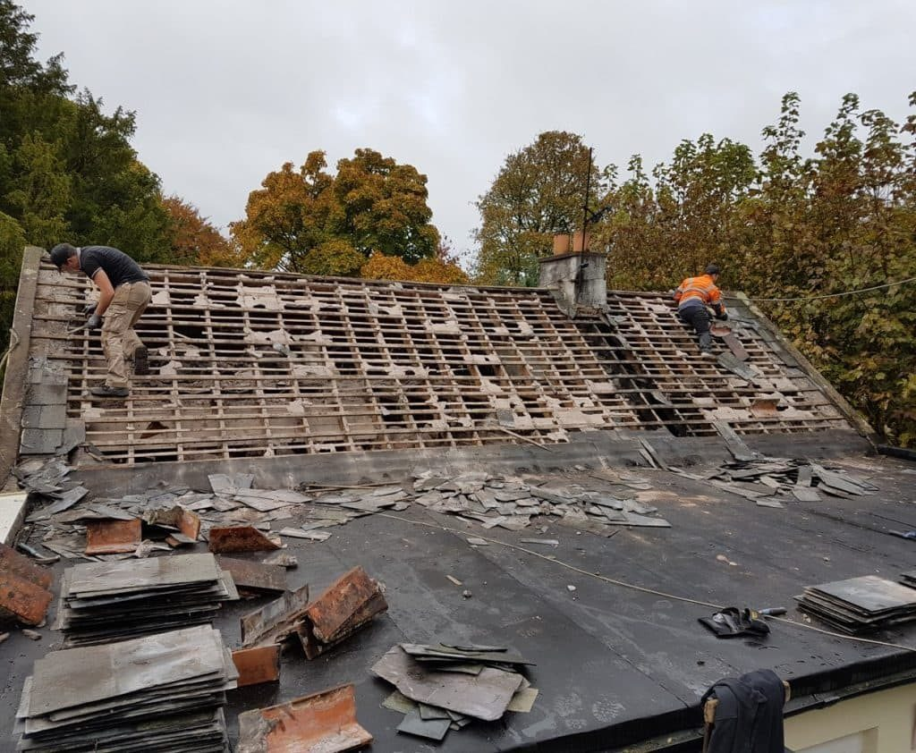 Storm Damaged Roof Repairs Limerick